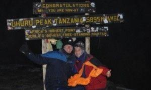 Escalar el monte Kilimanjaro