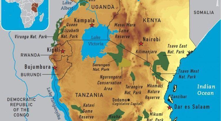 lago victoria en tanzania
